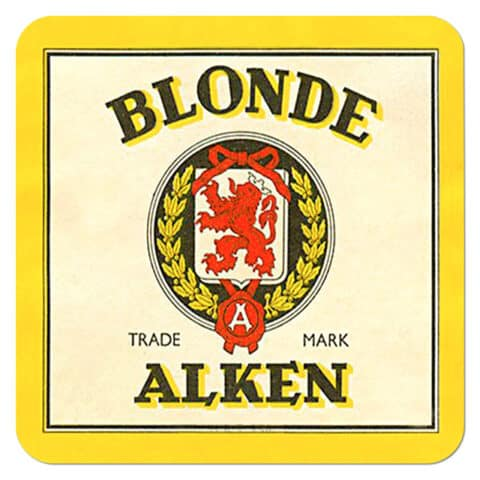 Blonde Alken Beer Mat