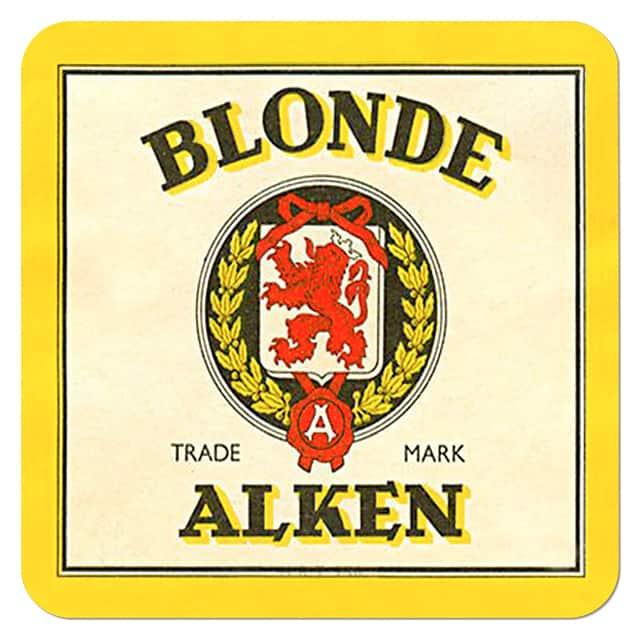 Blonde Alken Beer Mat