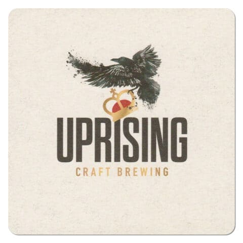 Uprising Craft Brewing Beer Mat