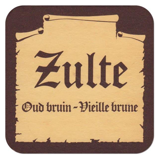 Zulte Beer Mat