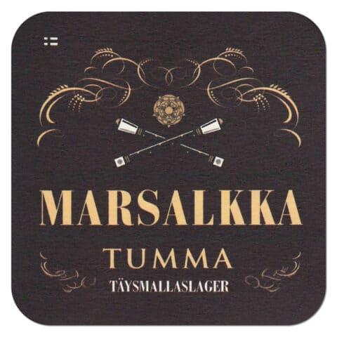 Marsalkka Tumma Beermat
