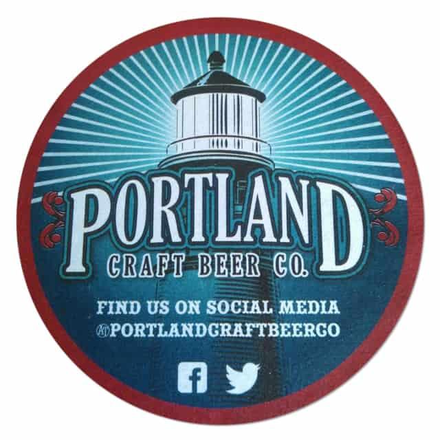 Portland Craft Beer Mat