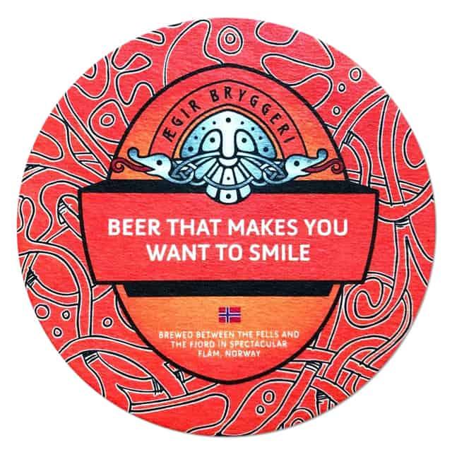 Aegir Brewery Beer Mat