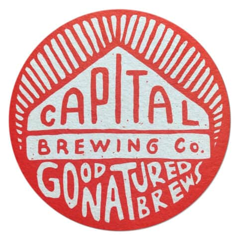 Capital Brewing Company Beer Mat