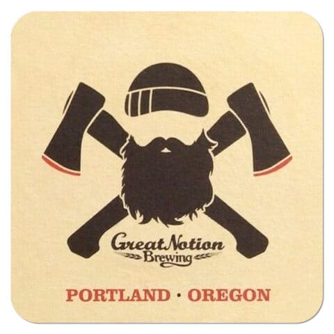 Great Notion Brewing Beer Mat