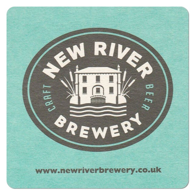 New River Brewery Beer Mat