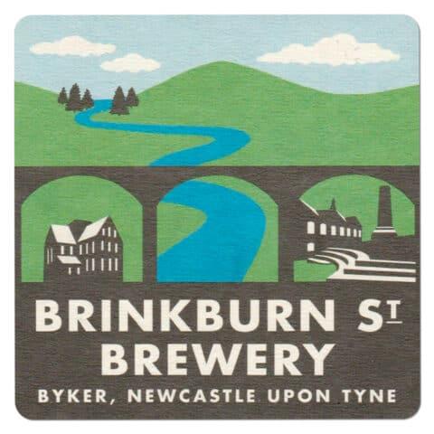 Brinkburn Street Brewery Beer Mat