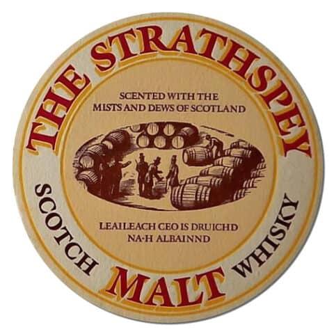 The Strathspey Malt Coaster