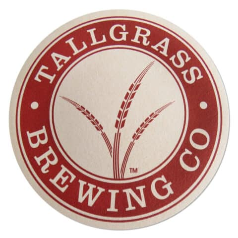 Tallgrass Brewing Co Beer Mat