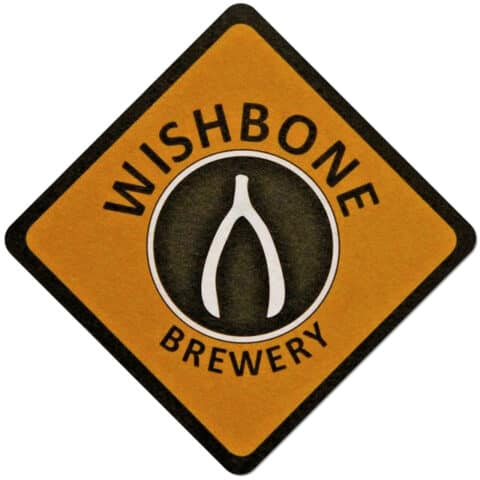 Wishbone Brewery Beer Mat