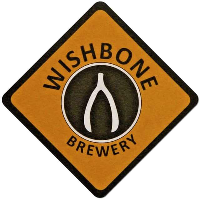 Wishbone Brewery Beer Mat