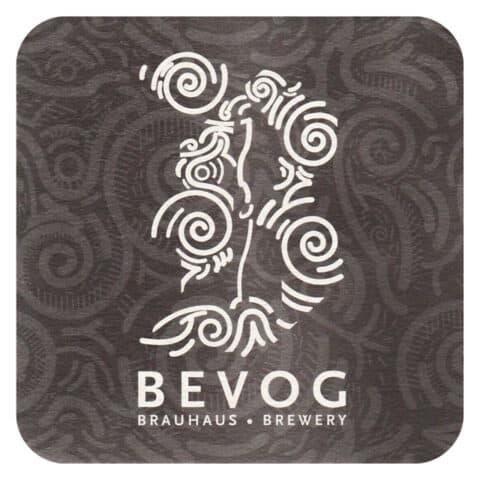 Bevog Brewery Beer Mat