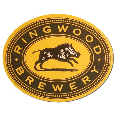 Ringwood Brewery Beer Mat