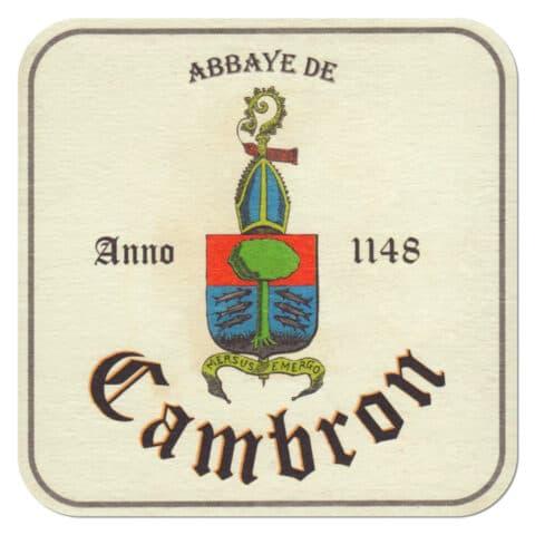 Abbaye de Cambron Beer Mat