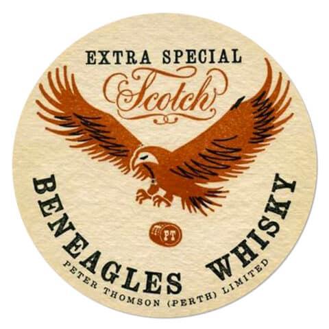 Beneagles Whisky Coaster