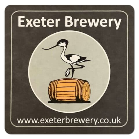Exeter Brewery Beer Mat