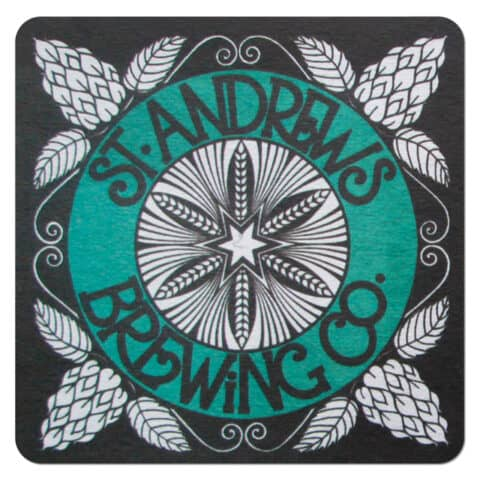 St. Andrews Brewing Co Beer Mat