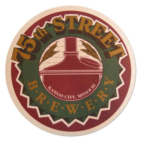75th Street Brewery Coaster