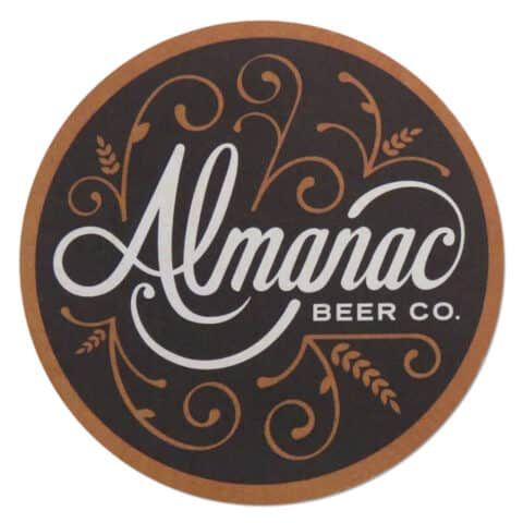 Almanac Beer Company Coaster
