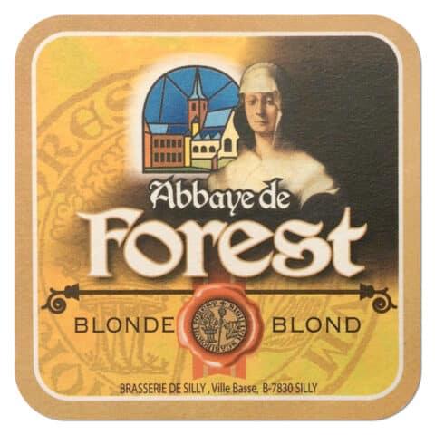 Abbaye de Forest Beer Mat
