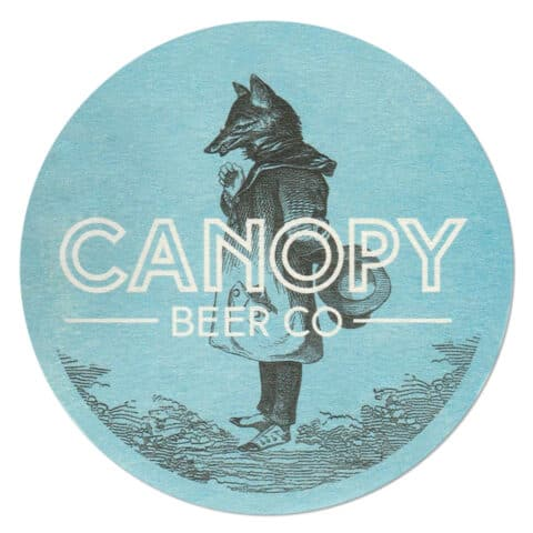 Canopy Beer Company Drip Mat