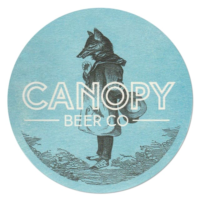 Canopy Beer Company Drip Mat