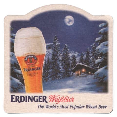 Erdinger Beer Mat Front