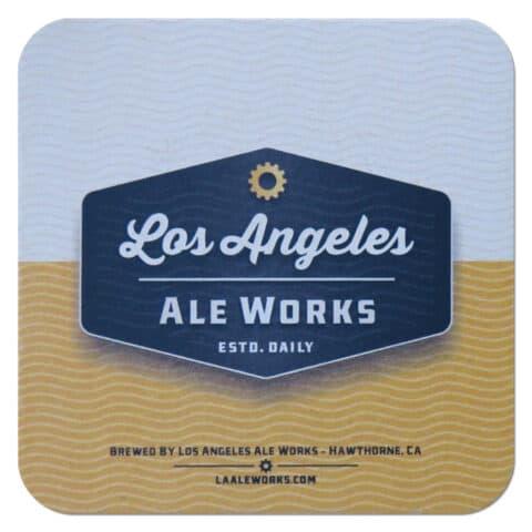 Los Angeles Ale Works Beer Mat