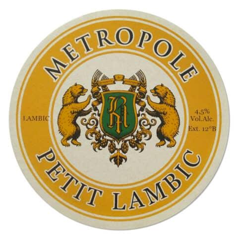 Metropole Petit Lambic Beer Mat