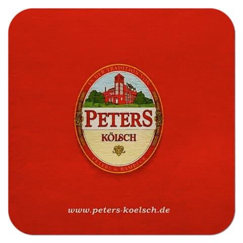 Peters Kölsch Beer Mat