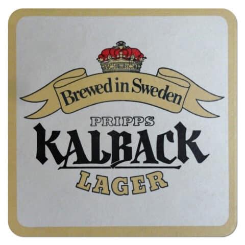 Pripps Kalbach Beer Mat