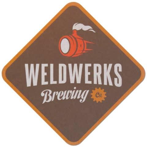 Weldwerks Brewing Beer Mat
