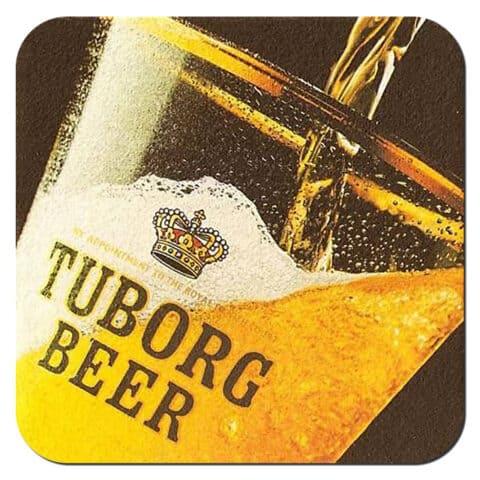 Tuborg Beer Mat