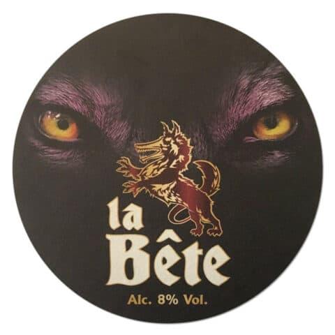 La Bete Beer Mat